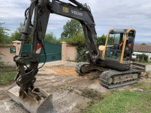 Volvo ECR88 Plus mini-excavator second-hand