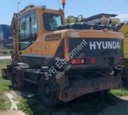 Hyundai R140 W-9 gravemaskine på hjul brugt