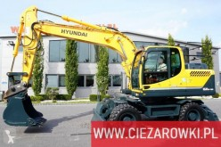 Hyundai 160W-9A , 18t , bucket , q-c , camera x6 ,blade , supports колесен багер втора употреба