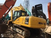 Komatsu PC200-7 PC200-7 excavadora de cadenas usada