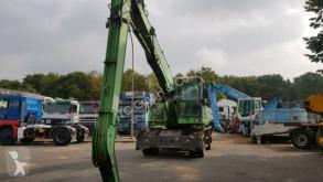 Sennebogen 821M Umschlagbagger German Truck tweedehands graafmachine op banden