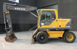 Volvo EW 140 B used wheel excavator