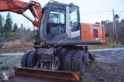 Escavadora Hitachi ZX 170 escavadora de rodas usada
