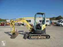Yanmar VIO 25-4 used mini excavator