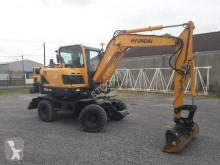 Excavadora Hyundai R55 W 9 excavadora de ruedas nueva