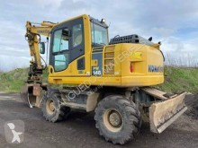 Excavadora Komatsu PW148 excavadora de ruedas usada