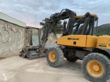 Excavadora excavadora de ruedas Mecalac 12 MSX