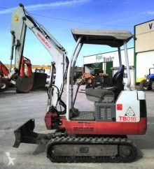 Takeuchi TB 016 TB016 mini-excavator second-hand