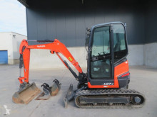 Kubota U 27-4 used mini excavator