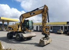 Caterpillar 315 315D excavator pe roti second-hand