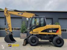 Excavadora Caterpillar M 313 D excavadora de ruedas usada