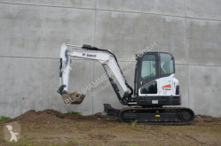 Bobcat E62 mini-excavator second-hand