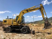 Excavadora excavadora de ruedas Komatsu PW150-6