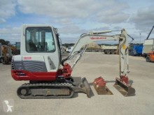 Escavadora Takeuchi TB 228 mini-escavadora usada