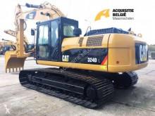 Excavadora Caterpillar 324DL excavadora de cadenas usada