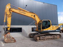 Hyundai Robex 220 LC-9 A used track excavator