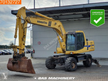 Komatsu PW170 ES-6K Outriggers - German machine excavator pe roti second-hand