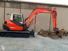 Mini escavatore Kubota KX080-3