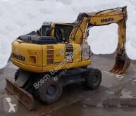 Komatsu PW160-8 excavadora de ruedas usada
