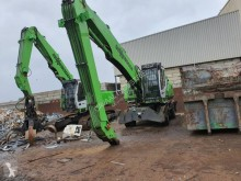 Sennebogen 821 E excavator pe roti second-hand