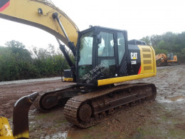 Caterpillar 320 used track excavator