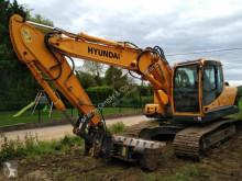 Hyundai excavator used