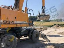 Excavadora Liebherr usada