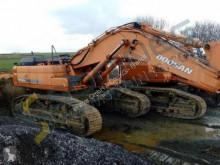 Doosan excavator used