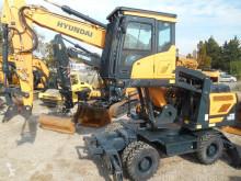 Escavadora Hyundai HW180 escavadora de rodas usada