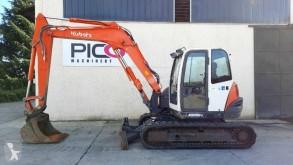 Excavadora excavadora de cadenas Kubota KX080-3