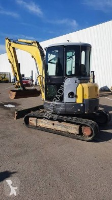New Holland E50.2 SR used mini excavator