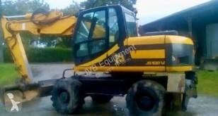Escavadora JCB JS130W escavadora de rodas usada