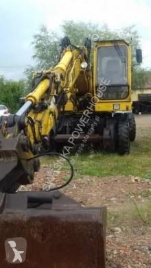 O&K MHS koparka kołowa, kolejowa, dwudrożna escavatore gommato usato