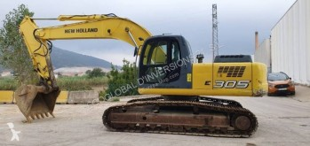 New Holland E 305 pelle sur chenilles occasion