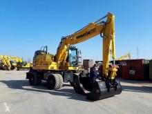 Excavadora excavadora de ruedas Komatsu PW160