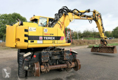Excavadora Atlas Terex 1604 ZW 4 Zweiwegebagger Rail excavadora de ruedas usada