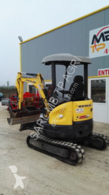 New Holland E26BSR mini-excavator second-hand