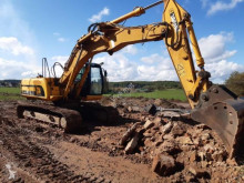 Escavadora JCB JS210 escavadora de lagartas usada