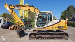 Kato HD512-3 used track excavator