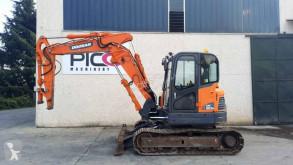 Doosan DX80 R used track excavator