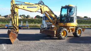 Escavatore gommato Komatsu PW98MR-6