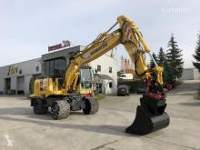Excavadora Komatsu PW180-7EO excavadora de ruedas usada