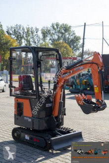 Mini-excavator Kingway JEFF10 z kabiną, with a cab