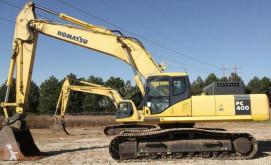 Komatsu PC400-7 excavator pe şenile second-hand