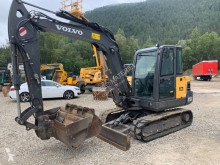 Escavadora Volvo EC55 C mini-escavadora usada
