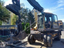 Excavadora Volvo EW 180 D excavadora de ruedas usada
