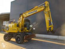 Komatsu PW148-11 excavator pe roti second-hand