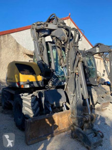Mecalac 714 MW used wheel excavator