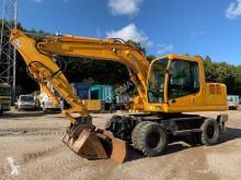 Hyundai R140 W 7 excavator pe roti second-hand