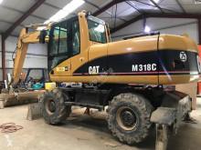 Excavadora excavadora de ruedas Caterpillar M318C